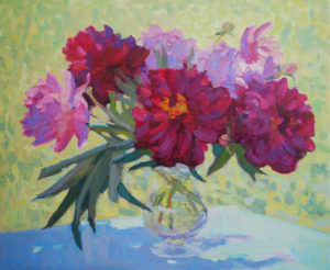Red Peonies artwork