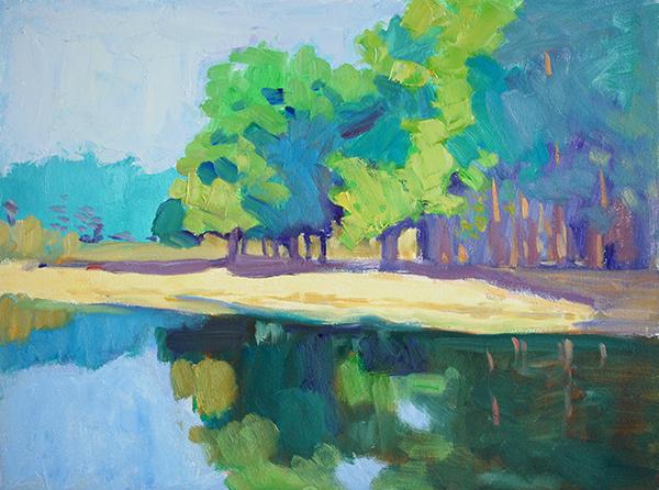 landscape original oil painting